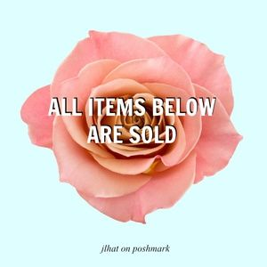Other - All Items Below Are Sold
